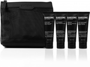 Handsome Men's Organic Skincare On the Go Gift Pack