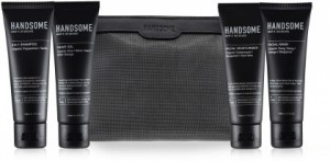 Handsome Mens Skincare Travelling Pack