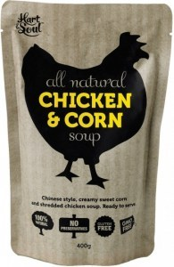 Hart & Soul All Natural Chicken & Corn Soup 400g