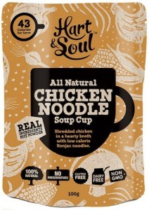 Hart & Soul All Natural Chicken Noodle Soup 100g
