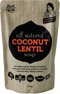 Hart & Soul All Natural Coconut & Lentil Soup 400g
