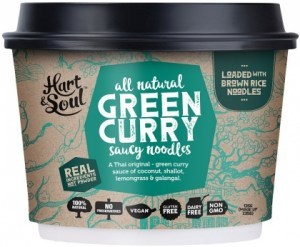 Hart & Soul All Natural Green Curry Saucy Noodles 135g