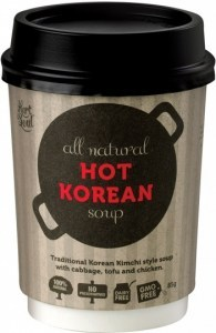 Hart & Soul All Natural Hot Korean Soup in a Cup 85g