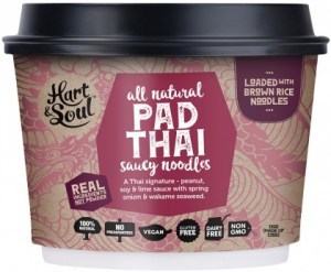 Hart & Soul All Natural Pad Thai Saucy Noodles 135g