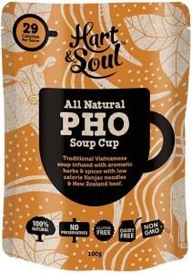 Hart & Soul All Natural Pho Soup Cup Sachet  100g