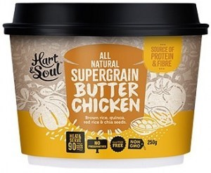 Hart & Soul All Natural Super Grain Butter Chicken Ready Meal  250g