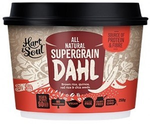 Hart & Soul All Natural Super Grain Dahl Ready Meal 250g