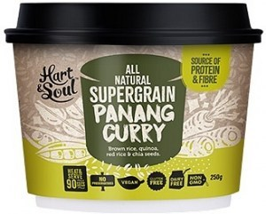 Hart & Soul All Natural Super Grain Panang Curry Ready Meal 250g