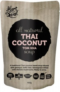 Hart & Soul All Natural Thai Coconut Tom Kha Soup 400g