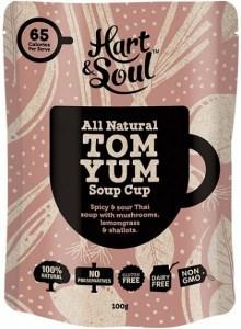 Hart & Soul All Natural Tom Yum Soup Cup Sachet  100g