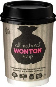 Hart & Soul All Natural Wonton Soup in a Cup 85g