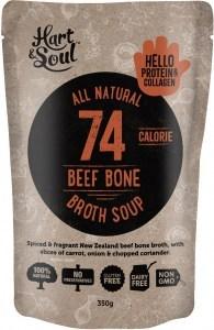 Hart & Soul Beef Broth Soup 350g