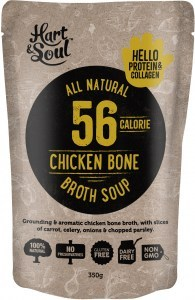 Hart & Soul Chicken Broth Soup 350g