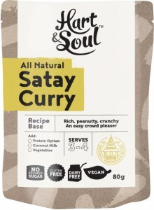 Hart & Soul Chicken Satay Recipe Base 80g
