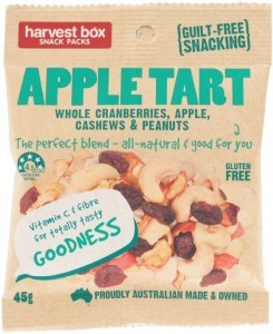 Harvest Box Apple Tart (Cranberriers, Apple, Cashews & Peanuts)  45g