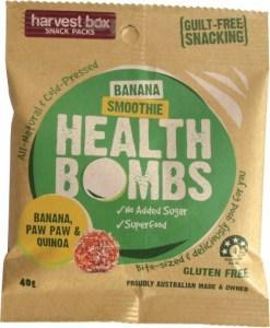 Harvest Box Banana Smoothie Health Bombs  40g