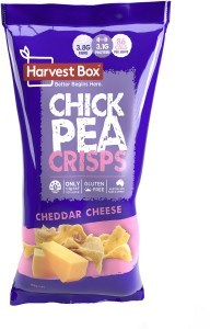 Harvest Box Chickpea Crisps Cheddar Cheese 85g