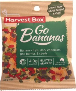 Harvest Box Go Bananas 45g