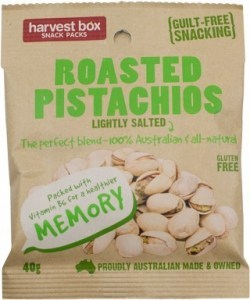 Harvest Box Roasted Pistachios Lightly Salted  40g