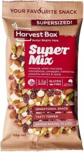 Harvest Box Super Mix Snack   Value Bag 135g