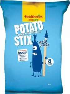 Healtheries Kidscare Potato Stix Roast Potato 8Pk