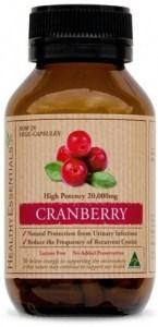 Healthy Essentials Cranberry 20000mg 50caps