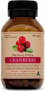 Healthy Essentials Cranberry 50000mg 100caps