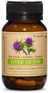 Healthy Essentials Liver Detox 60caps
