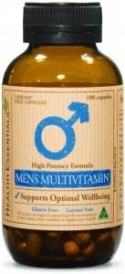 Healthy Essentials Mens Hi Potency Multivitamin 100caps
