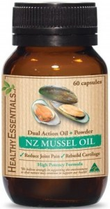 Healthy Essentials NZ  Mussel Oil 60 caps
