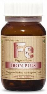 Healthy Essentials Organic Iron Plus Twin (2x30) 60caps