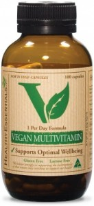 Healthy Essentials Vegan Hi Potency Multivitamin 100caps