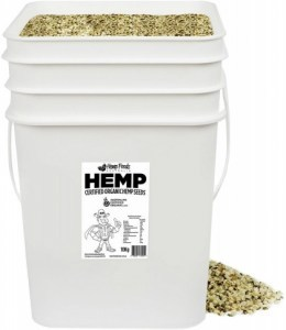 Hemp Foods Australia Bulk Hemp Seeds 10kg Tub