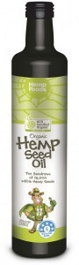 Hemp Foods Australia Cold Pressed Extra Virgin Hemp Oil Organic 250ml