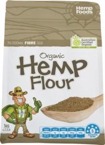 Hemp Foods Australia Organic Hemp Powder/Flour 1kg