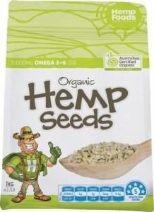 Hemp Foods Australia Organic Hulled Hemp Seeds 1kg