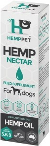 Hemp Pet Hemp Nectar Raw Australia Hemp Oil Feed Supplement for Dogs 100ml