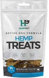 Hemp Pet New Zealand Hoki Fish Hemp Infused Treats for Dogs 70g