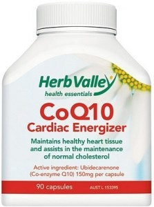 Herb Valley Co Enzyme Q10 ( CoQ10 ) 150mg 90caps