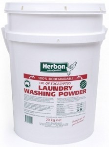 Herbon Fragrance Free Laundry Wash Pwd Bucket 20kg