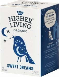 Higher Living Organic Sweet Dreams Tea Caffeine Free 15Teabags
