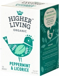 Higher Living Peppermint & Licorice 15Teabags