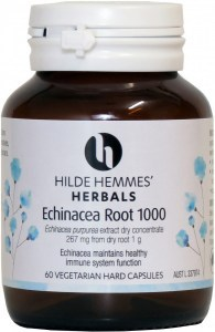 Hilde Hemmes Echinacea Root - Cold & Flu Relief 1000mg x 60caps