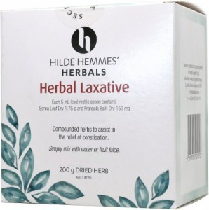 Hilde Hemmes Herbal Laxative 200gm