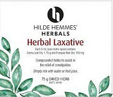 Hilde Hemmes Herbal Laxative 75gm
