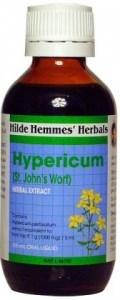 Hilde Hemmes Hypericum ( St Johns Wort ) - Anxiety & Nervousness Relief 100mL