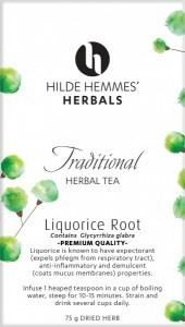 Hilde Hemmes Liquorice Root 75gm