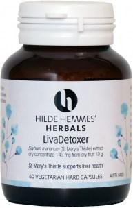 Hilde Hemmes LivaDetoxer ( Liver Detox ) x 60caps
