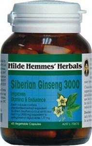 Hilde Hemmes Siberian Ginseng 3000mg x 45caps