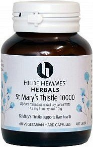 Hilde Hemmes St Marys Thistle Liver Tonic 10,000mg x 60caps
